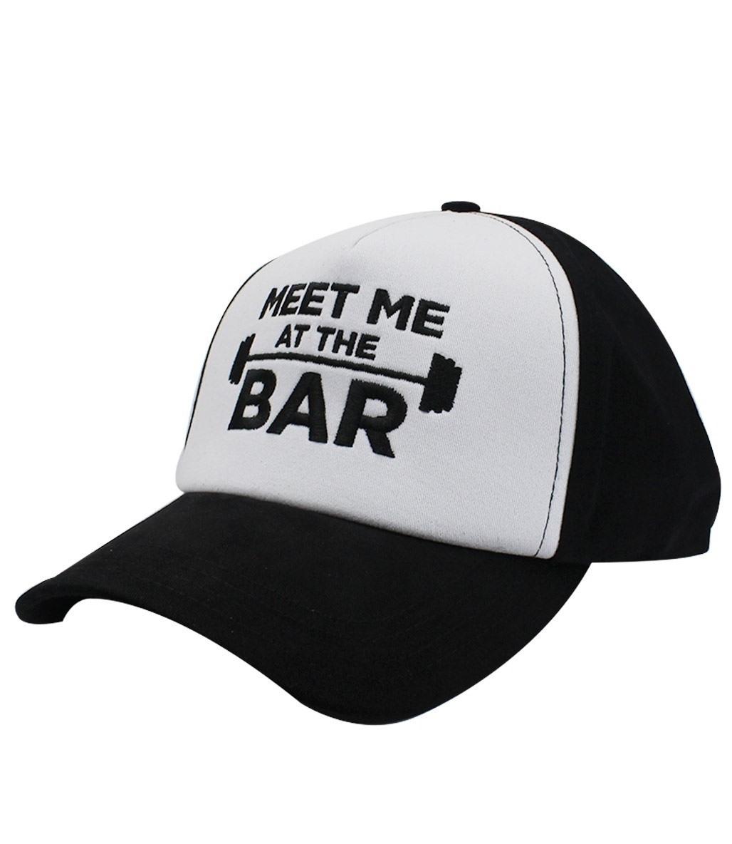 Supplementler Meet Me At The Bar Şapka Siyah