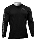 GASP Throwback Uzun Kollu T-Shirt Siyah