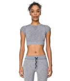 Jerf Captiva Crop Top Lacivert