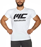 MuscleCloth Basic T-Shirt Beyaz