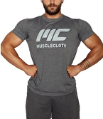 MuscleCloth Basic T-Shirt Gri