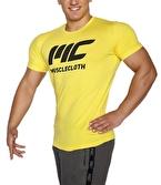 MuscleCloth Basic T-Shirt Sarı