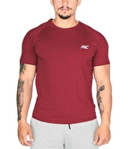 MuscleCloth Elite Reglan T-Shirt Bordo