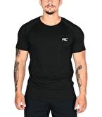 MuscleCloth Elite Reglan T-Shirt Siyah