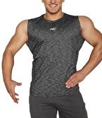 MuscleCloth Pro Kolsuz T-Shirt Siyah