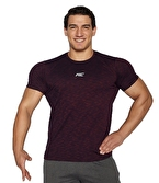MuscleCloth Pro T-Shirt Bordo