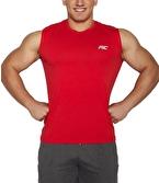 MuscleCloth Training Kolsuz T-Shirt Kırmızı