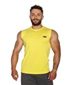 MuscleCloth Training Kolsuz T-Shirt Sarı