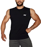 MuscleCloth Training Kolsuz T-Shirt Siyah