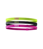 Nike Elastic Hairbands Volt 3'lü Saç Bandı Yeşil
