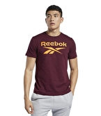 Reebok Graphic Series Stacked T-Shirt Bordo