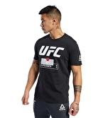 Reebok Ufc Fg Fight Week Tee T-Shirt Siyah