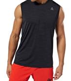 Reebok Wor Activchill Kolsuz T-Shirt Siyah