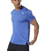Reebok WOR Melange Tech T-Shirt Mavi