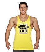 Supplementler Iron Never Lies Fitness Atleti Sarı