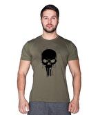 Supplementler Skull T-Shirt Yeşil