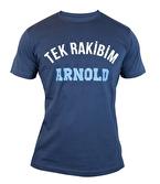 Supplementler Tek Rakibim Arnold T-Shirt Koyu Gri