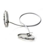TheraBand Professional Resistance Tubing 1.4 mt With Flexible Handles Direnç Lastiği Gümüş