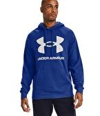 Under Armour Rival Flc Big Logo Sweatshirt Mavi