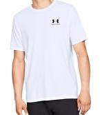 Under Armour Sportstyle Left Chest T-Shirt Beyaz