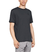 Under Armour Sportstyle Left Chest T-Shirt Siyah
