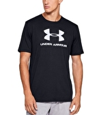 Under Armour Sportstyle Logo T-Shirt Siyah