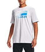 Under Armour Team Issue Wordmark T-Shirt Gri Mavi