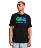 Under Armour Team Issue Wordmark T-Shirt Siyah Mavi