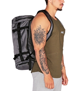 Musclecloth Convertible Spor Çanta Gri