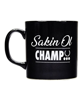Supplementler Sakin Ol Champ Kupa Siyah