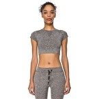 Jerf Captiva Crop Top Gri
