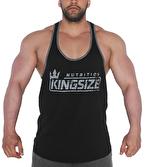 Kingsize Nutrition Logolu Klasik Tanktop Siyah