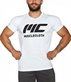 MuscleCloth Basic T-Shirt Beyaz