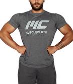 MuscleCloth Basic T-Shirt Gri