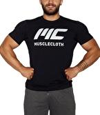 MuscleCloth Basic T-Shirt Siyah