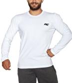 MuscleCloth Basic Uzun Kollu T-Shirt Beyaz