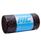 MuscleCloth Foam Roller Masaj Rulosu 30cm Siyah-Pembe