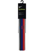 Nike Elastic Hairbands 3'lü Saç Bandı Çok Renkli