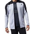 Reebok One Series Training Fermuarlı Sweatshirt Gri