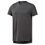Reebok Wor Melange Tech Top T-Shirt Gri