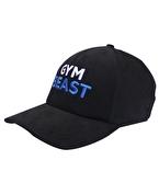 Supplementler Gym Beast Şapka Siyah Mavi Yazı