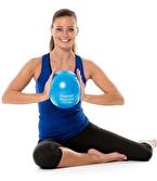TheraBand Pilates Topu 22 cm Mavi