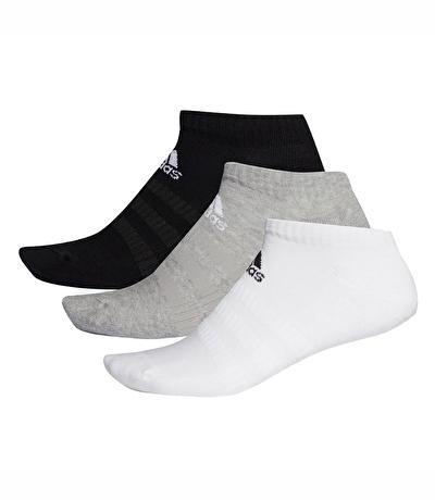 Adidas Cush Low 3'lü Çorap Çok Renkli