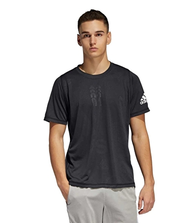 Adidas Freelift Daily Press T-Shirt Siyah