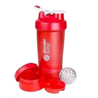 Blender Bottle Prostak Kırmızı 450 ml