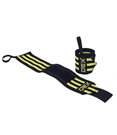 Dex Supports Wristwraps Siyah Sarı