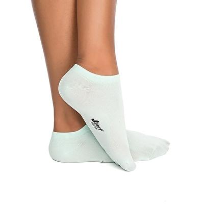 Jerf Patik Çorap Açık Mavi