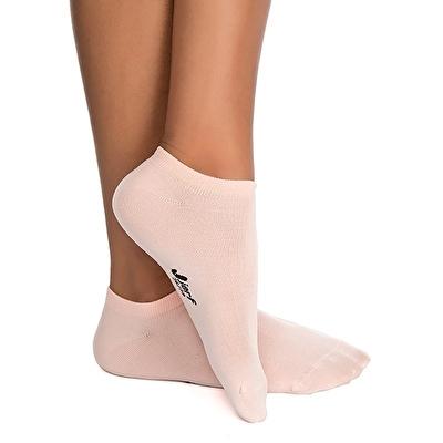 Jerf Patik Çorap Açık Pembe