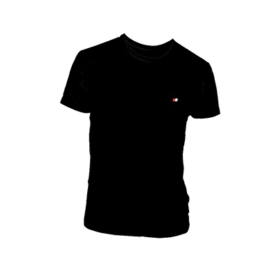 John Frank Basic T-Shirt Siyah