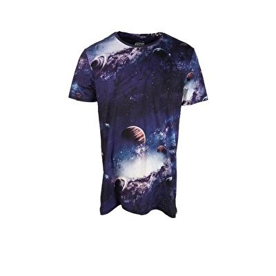John Frank Baskılı Dijital T-Shirt Deep